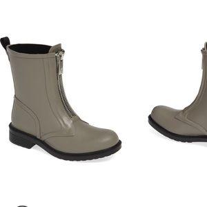 Frye Storm Waterproof RAINBOOTS Gray Sz 8